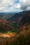 Grand canyon of the pacific waimea canyon Royalty Free Stock Photography