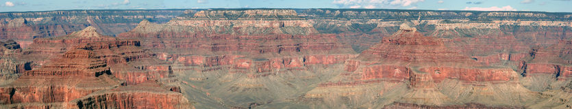 Grand Canyon Panaroma Stock Photography