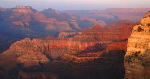 Grand Canyon Panorama Royalty Free Stock Photography