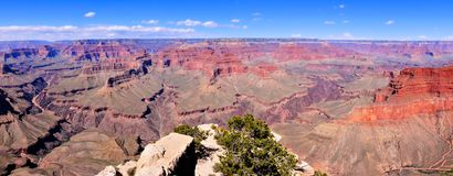Grand Canyon panorama Stock Images