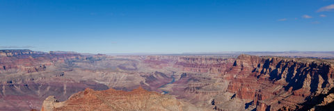 grand canyon panorama Obraz Stock