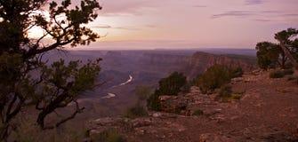 Grand Canyon Panorama Royalty Free Stock Photos