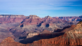 Grand Canyon Panorama Stock Image