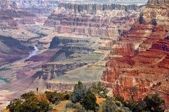 Grand Canyon panorama. Stock Photo