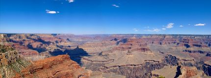 Grand Canyon Panoramic Stock Image