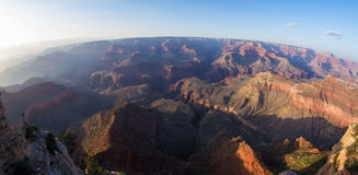 Grand Canyon Panoramic View Royalty Free Stock Photos