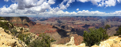 Grand Canyon panoramic view Stock Image
