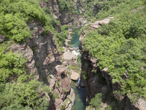 Grand Canyon Park. Henan, China yuntai Scenic Area Stock Photography
