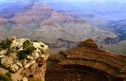 Grand Canyon. Photo of the Grand Canyon at the South Rim Royalty Free Stock Photography