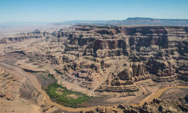 Grand canyon. This photo was taken in the GRAND CANYON. It was taken in helicopter Royalty Free Stock Photos
