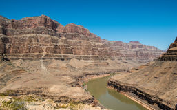 Grand canyon. This photo was taken in the GRAND CANYON. It was taken in helicopter Royalty Free Stock Photo