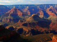 grand canyon piękny zachód słońca Obrazy Royalty Free