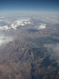 Grand Canyon. Picture of the Grand Canyon from above, with the river flowing through Royalty Free Stock Photos