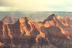 Grand Canyon. Picturesque landscapes of the Grand Canyon, Arizona, USA stock photos