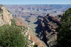 Grand Canyon Pipe Creek Vista Overlook Stock Photo