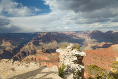 Grand Canyon Plateau Royalty Free Stock Images