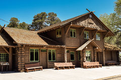 Grand Canyon Railway depot Royalty Free Stock Image
