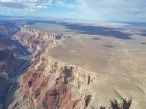Grand Canyon, ravine, color game royalty free stock photo