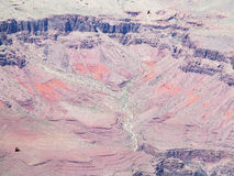 Grand Canyon red rocks Royalty Free Stock Photos