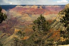 Grand Canyon -Reihe 4 stockbild
