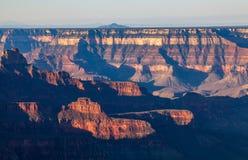 Grand Canyon Rim Scenic Beauty del norte Imágenes de archivo libres de regalías