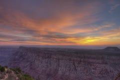 Grand Canyon Rim Sunrise del sud Fotografia Stock