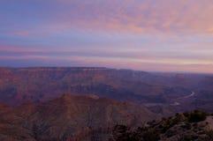 Grand Canyon Rim Sunrise del sud Fotografia Stock Libera da Diritti