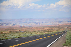 Grand Canyon Road Stock Images