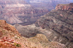 Grand canyon rock Royalty Free Stock Images