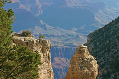 Grand Canyon Rock Formations Royalty Free Stock Photography