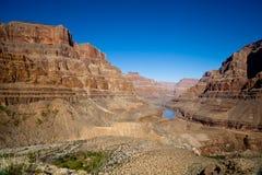Grand Canyon Rocks. Landscape View Stock Photo