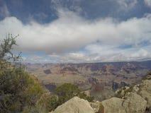 Grand Canyon södra kant fotografering för bildbyråer