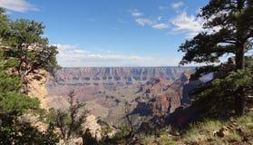 Grand Canyon södra plats USA arkivbild