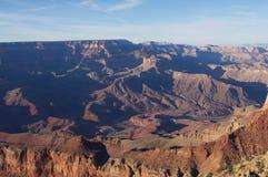 Grand Canyon -Südkante Lizenzfreies Stockbild