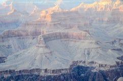 Grand Canyon -Südkante in Arizona, US Stockbilder