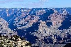 Grand Canyon -Südkante in Arizona, US Lizenzfreie Stockbilder