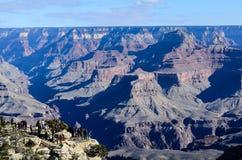 Grand Canyon -Südkante in Arizona, US Stockfoto
