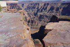 The Grand Canyon`s West Rim b78. The Grand Canyon Hopi: Ongtupqa; Yavapai: Wi:ka'i:la, Navajo: Tsékooh Hatsoh, Spanish: Gran Cañón is a steep-sided royalty free stock photo