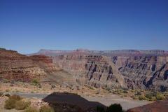 The Grand Canyon`s West Rim b77. The Grand Canyon Hopi: Ongtupqa; Yavapai: Wi:ka'i:la, Navajo: Tsékooh Hatsoh, Spanish: Gran Cañón is a steep-sided royalty free stock image
