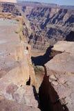 The Grand Canyon`s West Rim b76. The Grand Canyon Hopi: Ongtupqa; Yavapai: Wi:ka'i:la, Navajo: Tsékooh Hatsoh, Spanish: Gran Cañón is a steep-sided royalty free stock photography