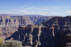 The Grand Canyon`s West Rim b58. The Grand Canyon Hopi: Ongtupqa; Yavapai: Wi:ka'i:la, Navajo: Tsékooh Hatsoh, Spanish: Gran Cañón is a steep-sided stock photography