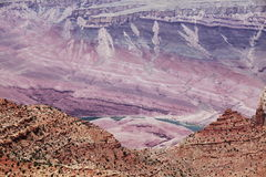 Grand canyon scene Royalty Free Stock Photos