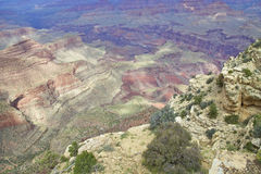 Grand Canyon Scenic Color Stock Image