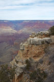 Grand Canyon Scenic Overlook Stock Image