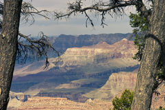 Grand Canyon scenic view Stock Photos