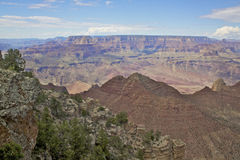 Grand Canyon Scenic Vista Royalty Free Stock Photos