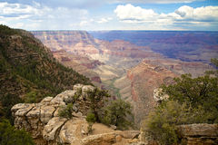 Grand Canyon scenisk skönhet Royaltyfria Bilder