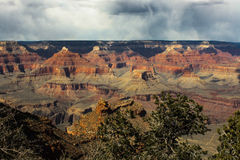 Grand Canyon serie 5 Arkivfoto