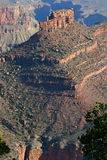 Grand Canyon Shapes and Shadows Royalty Free Stock Photography
