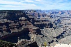 Grand Canyon sieht späten Nachmittag an stockfotografie